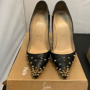 Christian Louboutin Shoes - Authentic Christian Louboutin studded Heels.